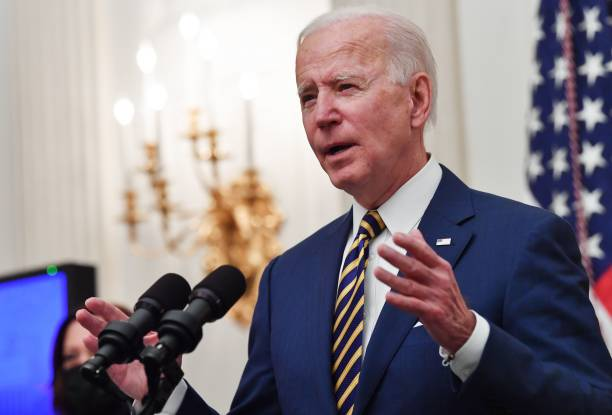 DC: President Biden Delivers Remarks On Response To Economic Crisis From White House