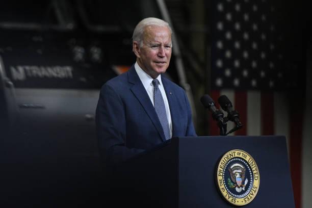 NJ: President Biden Visits NJ Transit Meadowlands Maintenance Complex