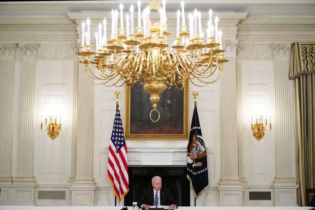 DC: President Biden Hosts Cuban-American Leaders To Discuss Demonstrations In Cuba