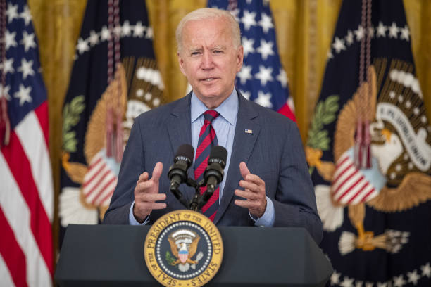DC: President Biden Delivers Remarks On Covid-19 And Vaccination