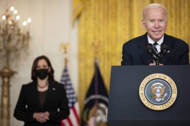 DC: President Biden Delivers Remarks At White House