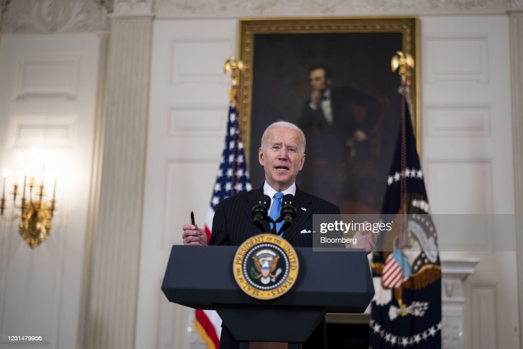 President Biden Delivers Remarks On Covid-19 Pandemic : News Photo