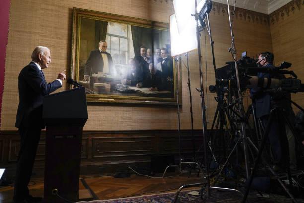 DC: President Biden Delivers Remarks On Afghanistan