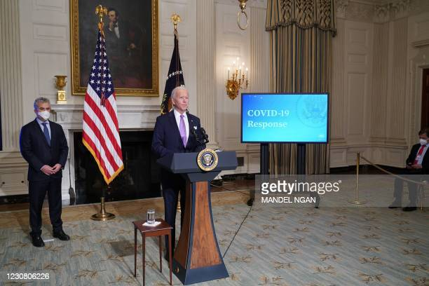 DC: President Biden Discusses His Covid-19 Pandemic Plan At The White House