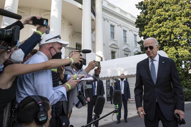 DC: President Biden Departs White House For Delaware