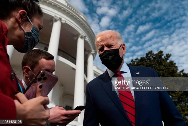 DC: President And Mrs Biden Depart White House For Delaware