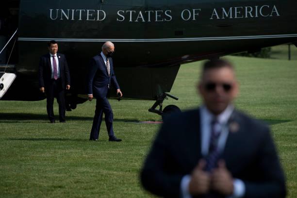 DC: President Biden Returns To White House From Pennsylvania