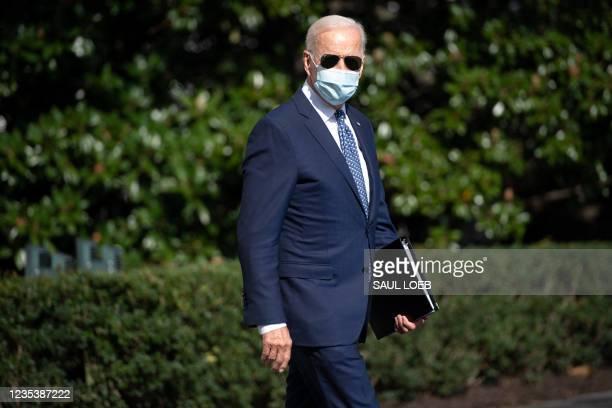 DC: President Biden Departs For UNGA In New York