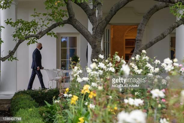 DC: President Biden Returns To White House From UNGA In New York