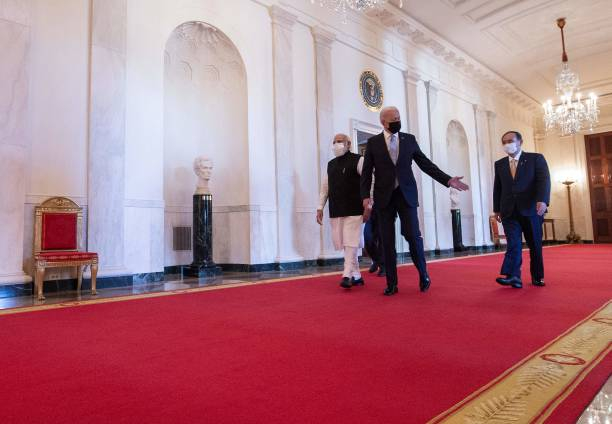 DC: President Biden Host Quad Nation Summit With Leaders Of Australia, Japan, And India