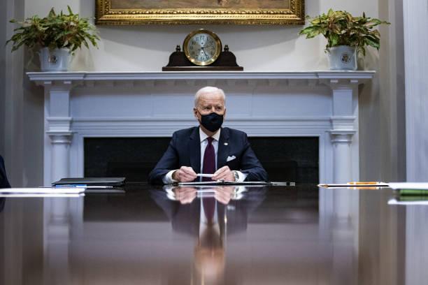 DC: President Biden Receives Economic Briefing With Secretary Of Treasury