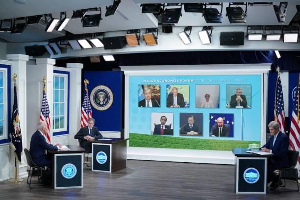 DC: President Biden Reconvenes Major Economies Forum On Energy And Climate