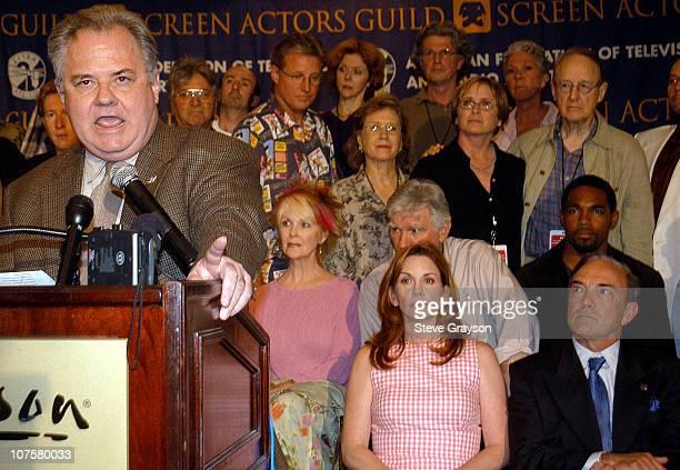 President John Connolly and SAG President Melissa Gilbert