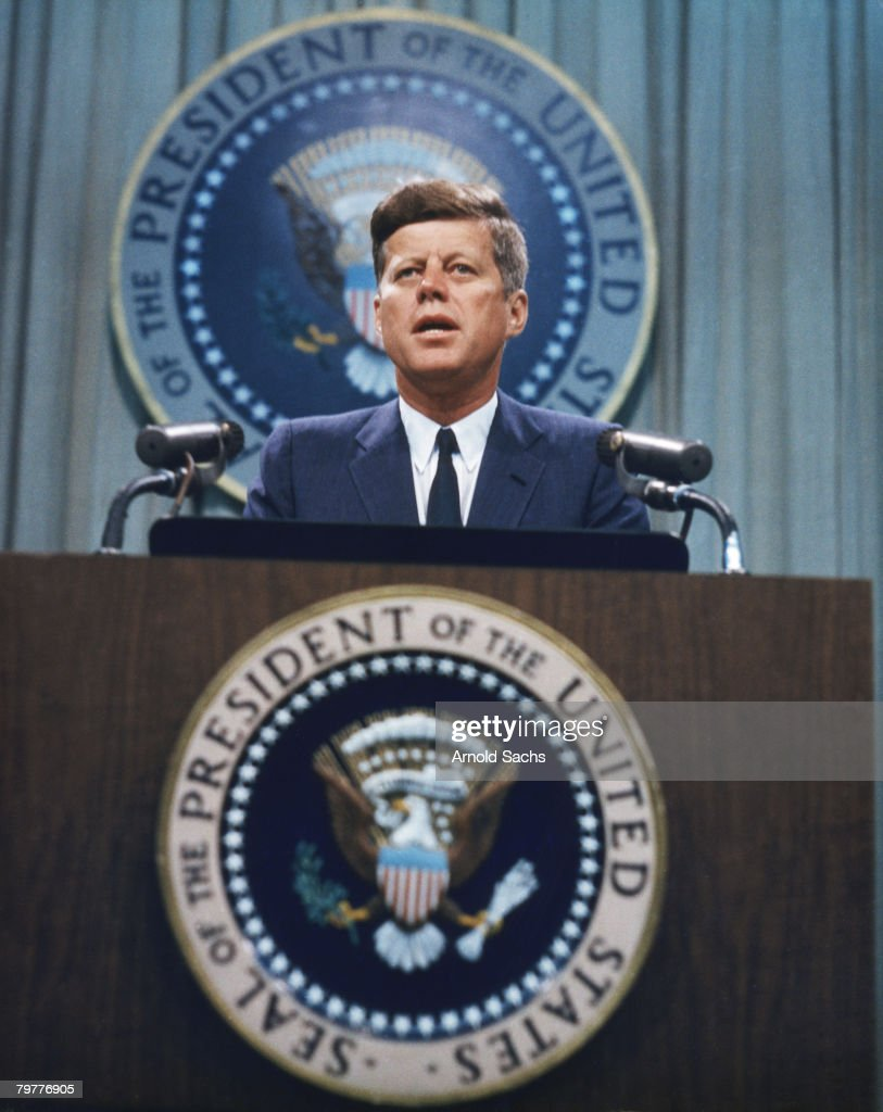 John F. Kennedy : News Photo
