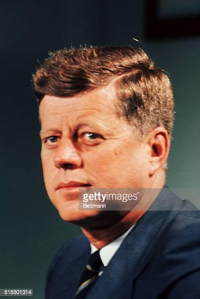 President John F Kennedy at his Palm Beach home
