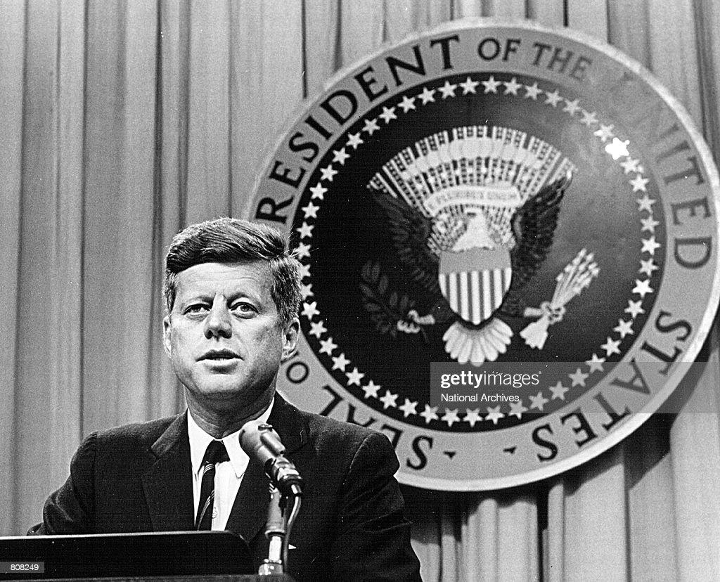John F. Kennedy : Photo d'actualité