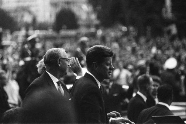 President Kennedy Arrives In Berlin