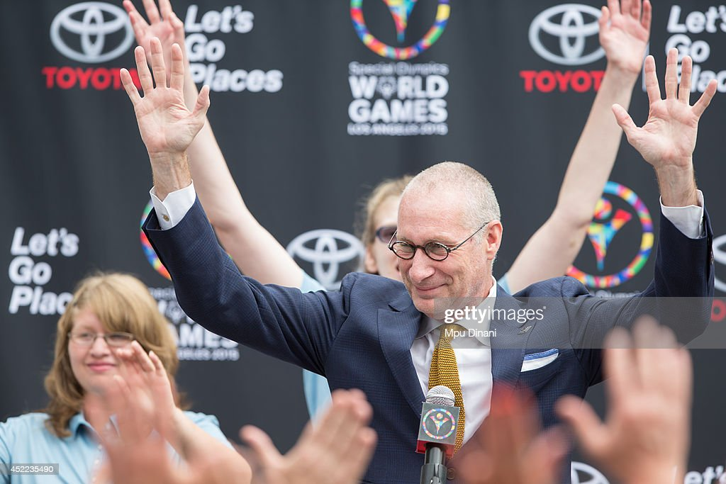 Special Olympics World Games Los Angeles 2015 - Press Conference