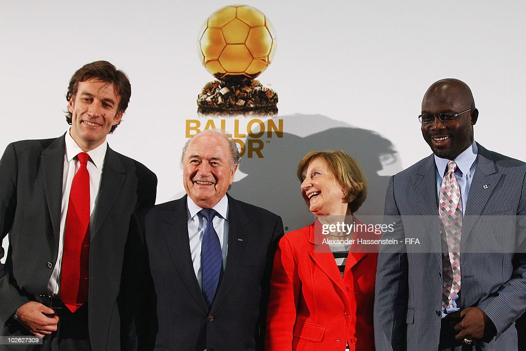 FIFA & France Football Media Event-2010 FIFA World Cup