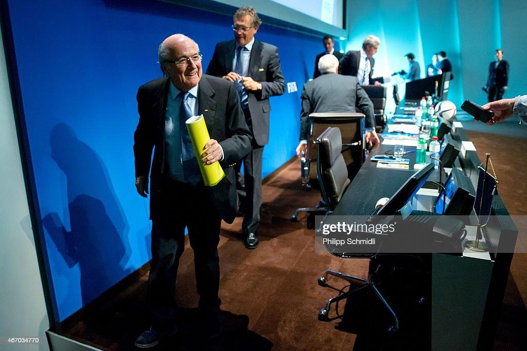 FIFA Executive Committee Meeting : News Photo