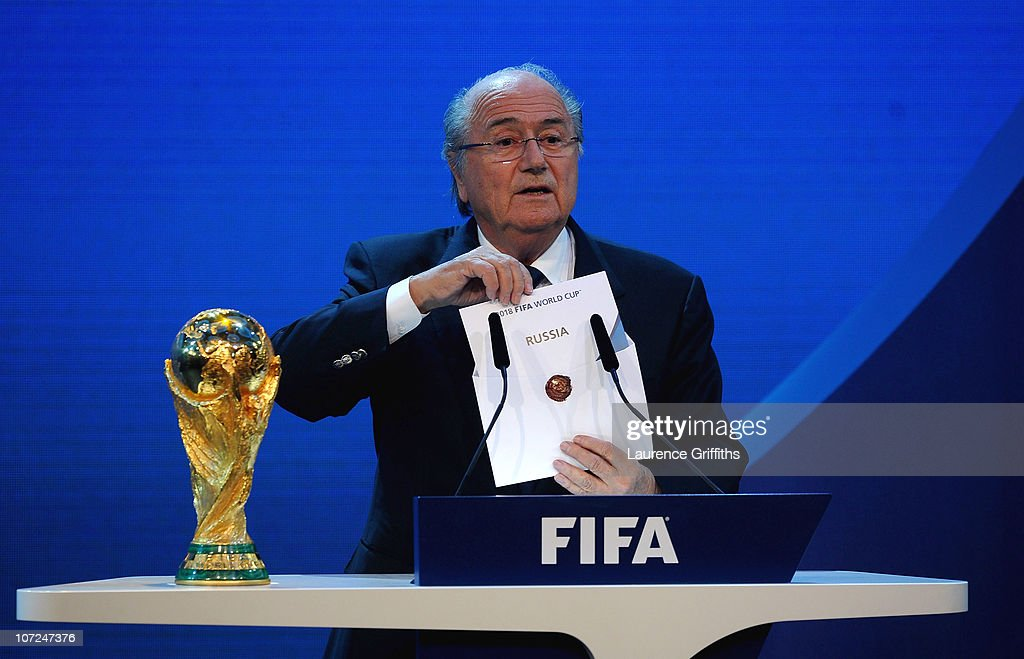 FIFA World Cup 2018 & 2022 Host Countries Announced : News Photo
