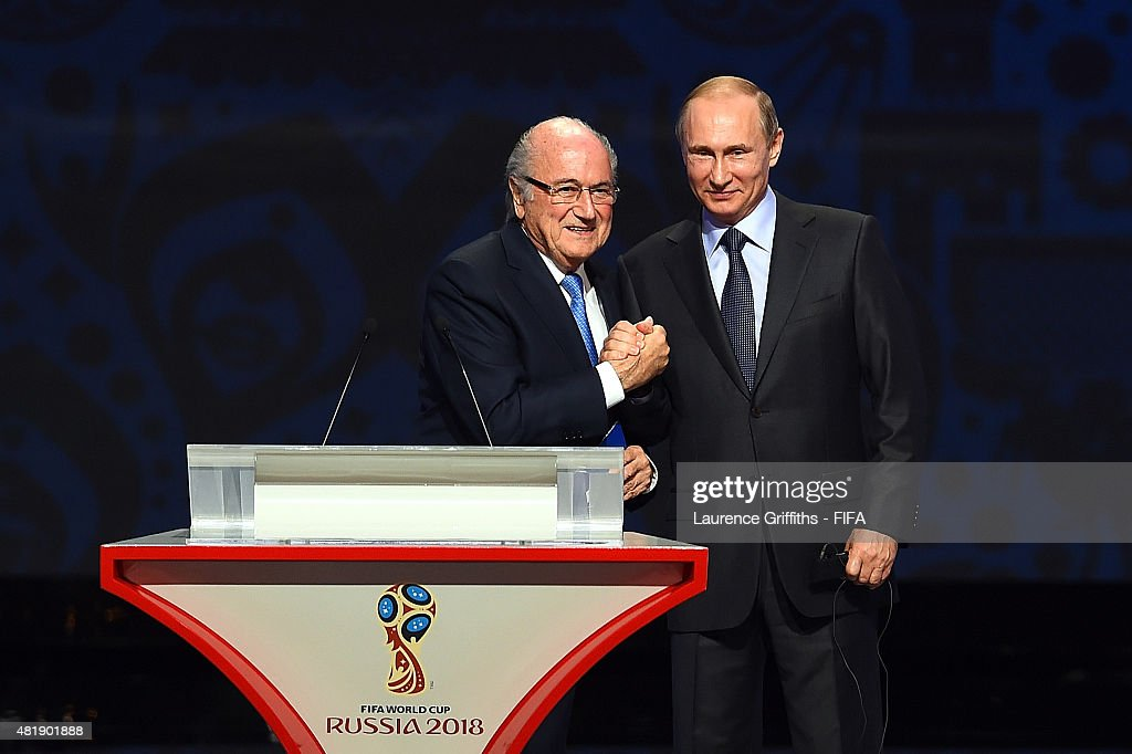 Preliminary Draw of the 2018 FIFA World Cup in Russia : News Photo