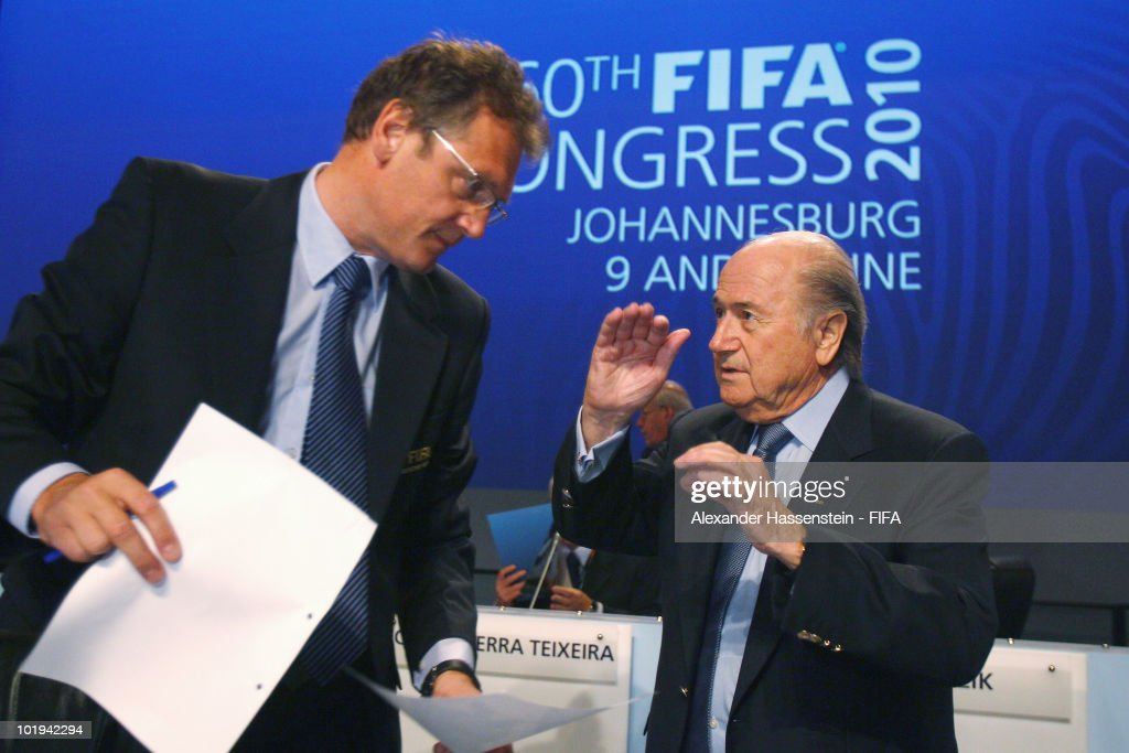 60th FIFA Congress-2010 FIFA World Cup : News Photo