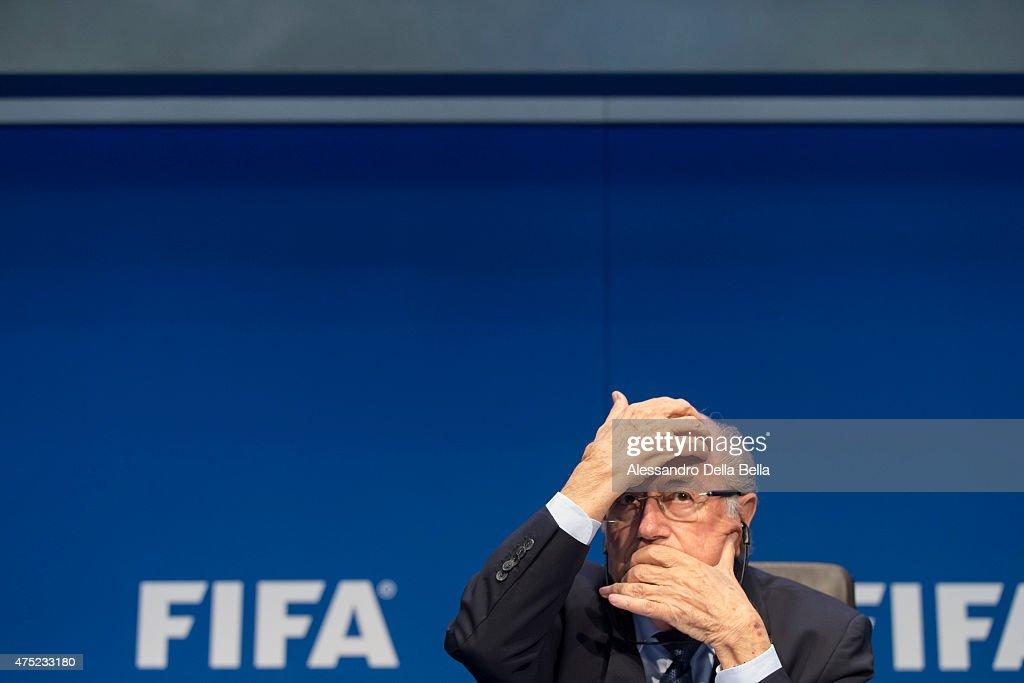 FIFA Post Congress Week Press Conference : News Photo