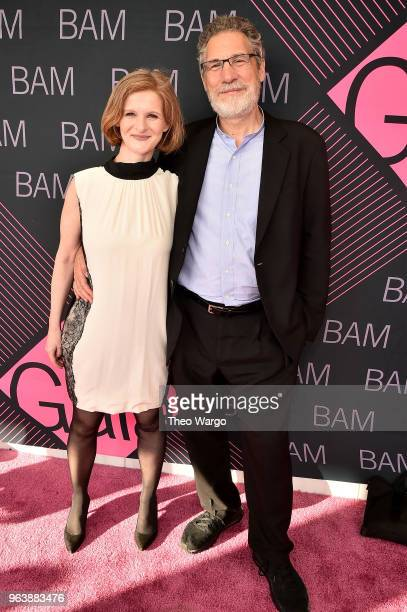 President Katy Clark and Jonathan Rose attend the BAM Gala 2018 honoring Darren Aronofsky Jeremy Irons and Nora Ann Wallace at Brooklyn Cruise...