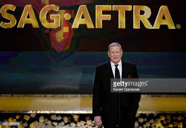 President Ken Howard speaks onstage at the 21st Annual Screen Actors Guild Awards at The Shrine Auditorium on January 25 2015 in Los Angeles...