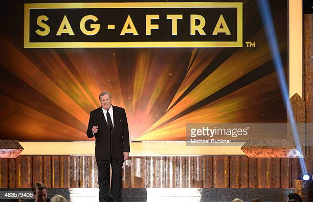 President Ken Howard speaks onstage during 20th Annual Screen Actors Guild Awards at The Shrine Auditorium on January 18, 2014 in Los Angeles,...