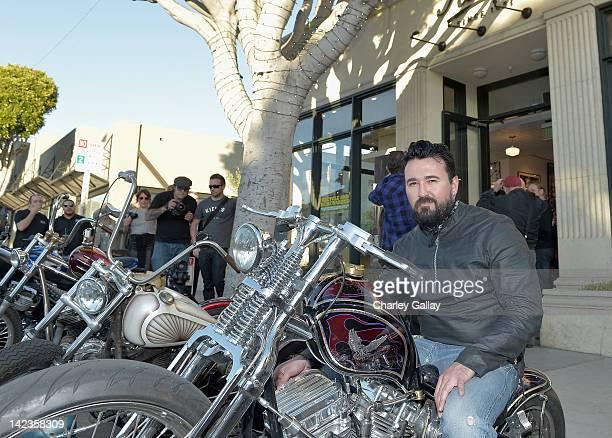 President Kiehl's USA Chris Salgardo attends Kiehl's Desert Run For amfAR BBQ at Kiehl's Since 1851 Santa Monica store on April 2 2012 in Santa...