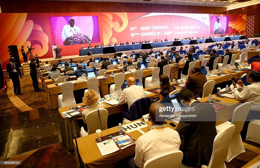 IAAF Congress Day One - 2015 IAAF World Championships : News Photo