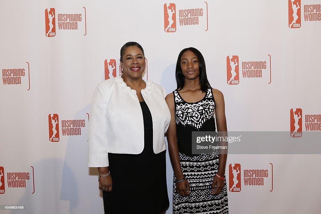 2014 WNBA Inspiring Women Luncheon