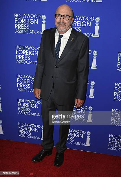 President Lorenzo Soria attends the Hollywood Foreign Press Association's Grants Banquet at the Beverly Wilshire Four Seasons Hotel on August 4 2016...