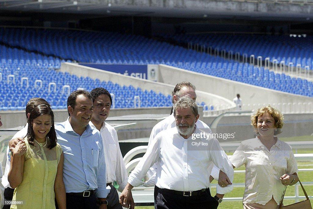 President Luiz Inacio Lula da Silva during International Women?s Day