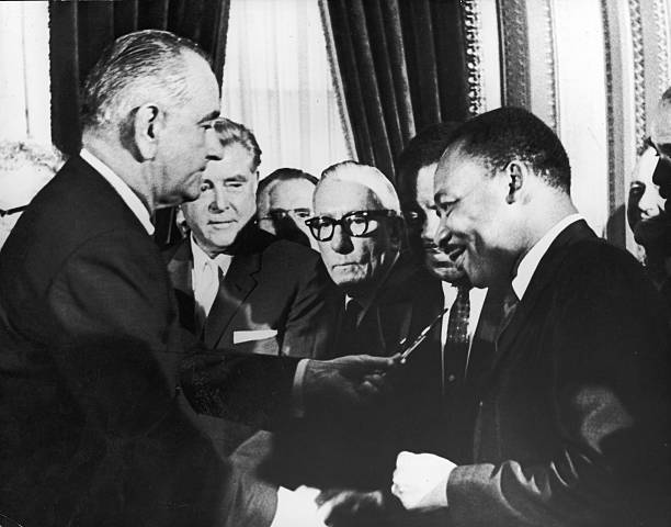 DC: 6th August 1965 - The 1965 Voting Rights Act Is Signed Into Law