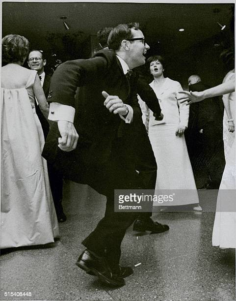 President Lyndon B Johnson's Press Secretary Bill Moyers never realized the stir it would raise when he was pictured wildly dancing the frug or...