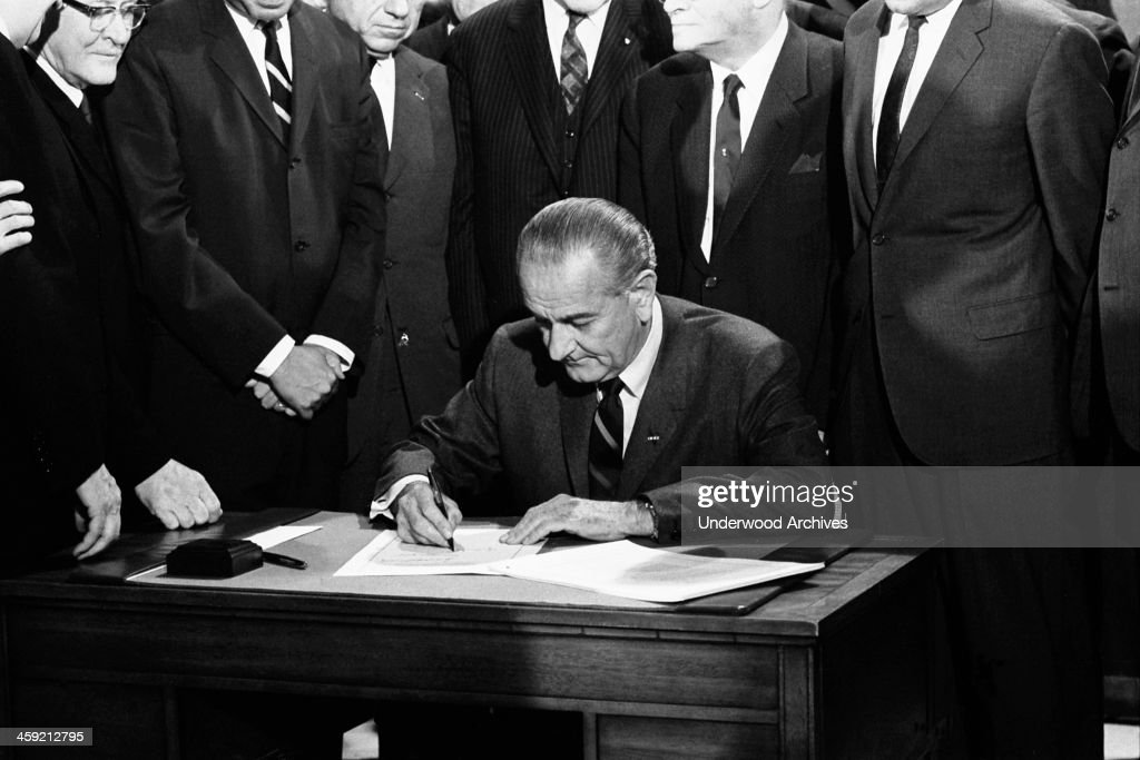 50 Years Since Signing Of The Civil Rights Act