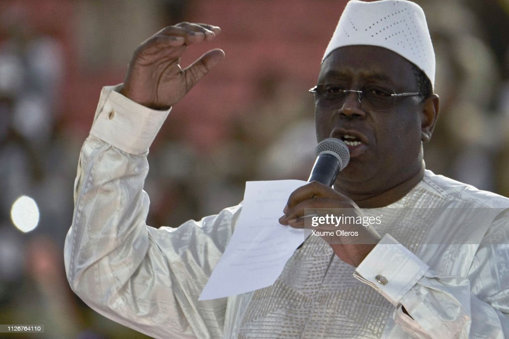 Final Political Rallies Take Place Ahead Of Sunday's Senegal Elections : News Photo