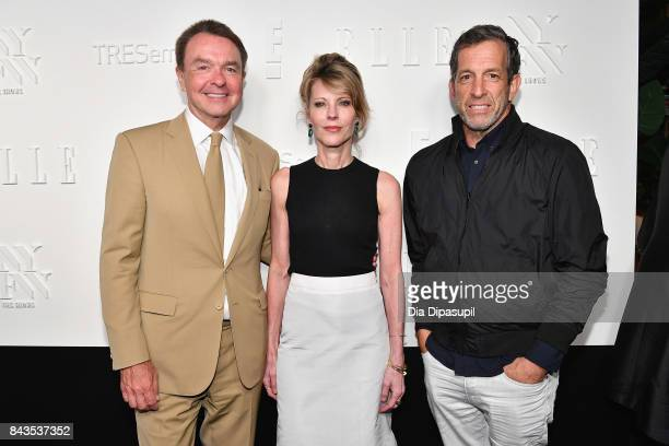 President Marketing and Publishing Director at Hearst Magazines Michael Clinton EditorinChief of ELLE Magazine Robbie Myers and designer Kenneth Cole...