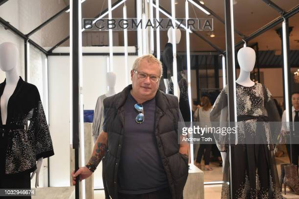 President Marty Staff attends the celebration of the BCBGMAXAZRIA SoHo store opening with Kate Young Bernd Kroeber and InStyle on September 13 2018...