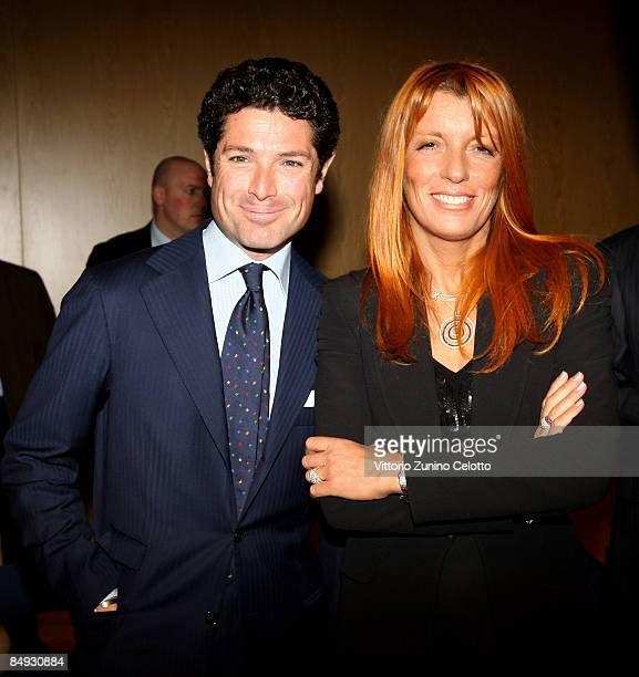 President Matteo Marzotto and Michela Vittoria Brambilla attend the Opening Conference of Bit 2009 International Tourism Exchange Fair on February 19...