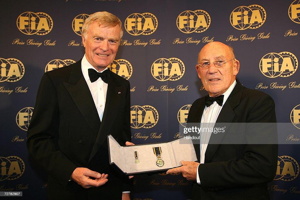 FIA Gala Prize Giving Ceremony : News Photo
