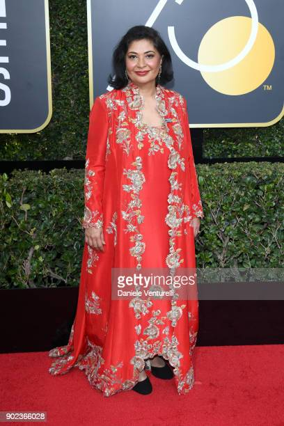 President Meher Tatna attends The 75th Annual Golden Globe Awards at The Beverly Hilton Hotel on January 7 2018 in Beverly Hills California