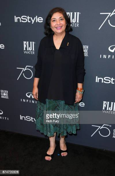 President Meher Tatna attends the Hollywood Foreign Press Association and InStyle celebrate the 75th Anniversary of The Golden Globe Awards at Catch...