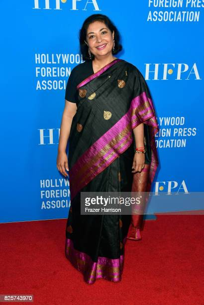 President Meher Tatna attends the Hollywood Foreign Press Association's Grants Banquet at the Beverly Wilshire Four Seasons Hotel on August 2 2017 in...