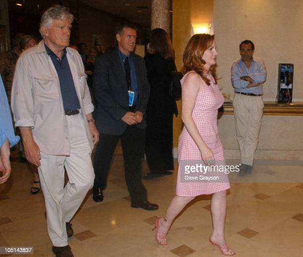 President Melissa Gilbert during The SAG/AFTRA Consolidation Vote at Radisson Wilshire Plaza Hotel in Los Angeles, California, United States.