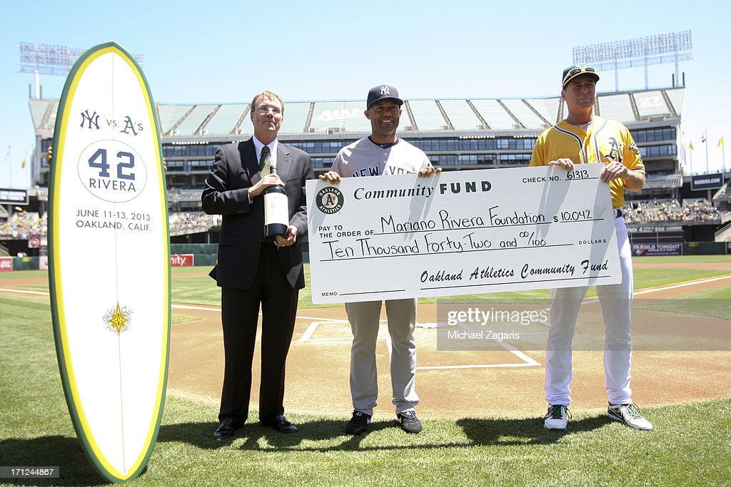 New York Yankees v Oakland Athletics : News Photo