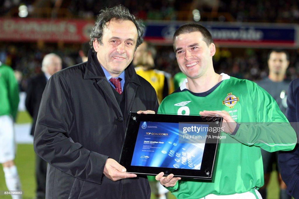 Soccer - International - Northern Ireland v Georgia - Windsor Park : News Photo